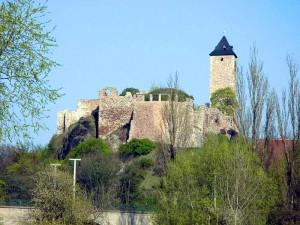 Burg Giebichenstein an der Saale / Foto: Wikipedia/Mewes/Public Domain