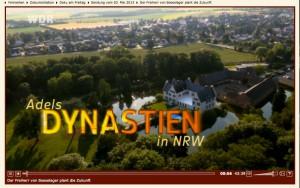 Der WDR stellte die von Boeselagers von Burg Heimerzheim vor / Bild: Screenshot