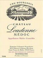Etikett eines Chateau Loudenne