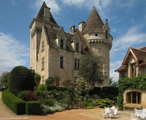 Chateau Milandes ist immer noch von einem Garten umgeben / Foto: Wikipedia/Manfred Heyde / Creative Commons Attribution-Share Alike 3.0 Unported