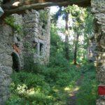 Burgruine Klingenberg: Nordmauer eingestürzt