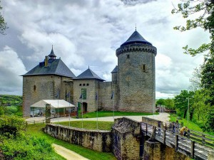 Burg Malbrouck / Foto: Uwe Sicks / GNU Free Documentation License.