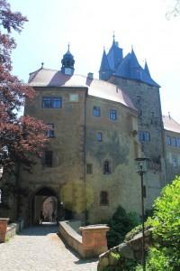 Tor von Burg Kriebstein