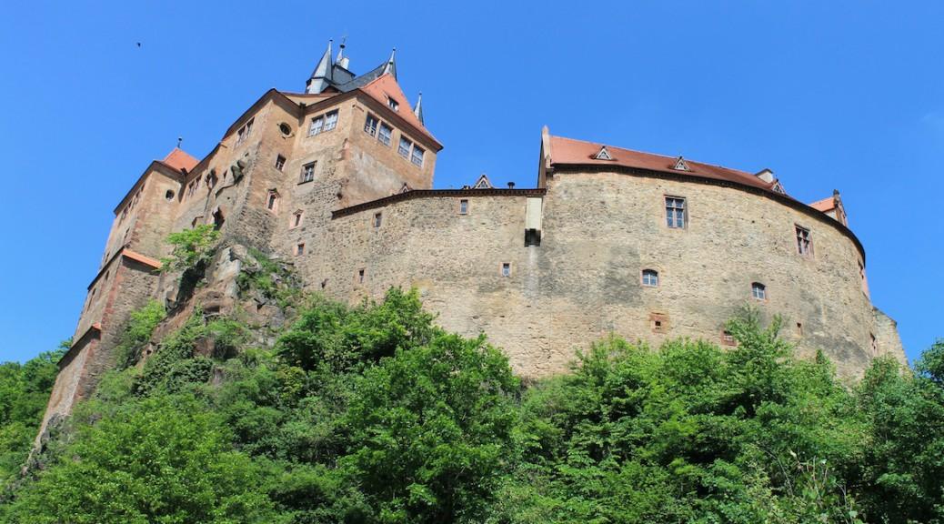 Mehrfach kurz im Bild: Burg Kriebstein / Foto: Burgerbe