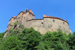 Burg Kriebstein: Ein echtr Hingucker