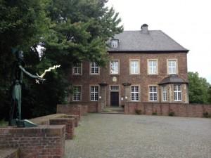 Herrenhaus von Burg Vobdern