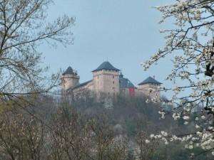 Chateau de Malbrouck liegt auf einer Anhöhe / Foto: Wikipedia/F5ZV