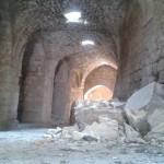 Burg Krak des Chevaliers: Fotos zeigen schwere Schäden