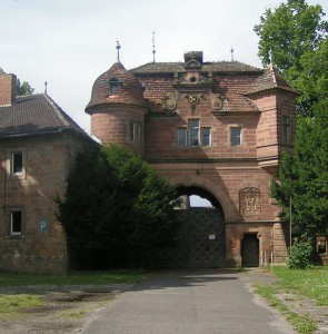 Das Eingangstor zu Schloss Vitzenburg / Foto: Wikipedia/Meleagros/ CC-BY-SA-2.0-DE.