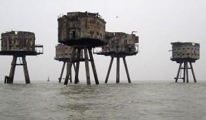 Die jüngste Generation der Seefestungen: Die Maunsell-Forts/Foto: Wikipedia/Flaxton/ CC-BY-SA-3.0-migrated