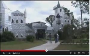 Mr. Solomans Eigenbau-Burg in Florida / Foto: Screenshot Youtube