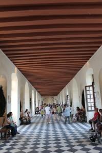 Chateau Chenanceau: Der Korridor