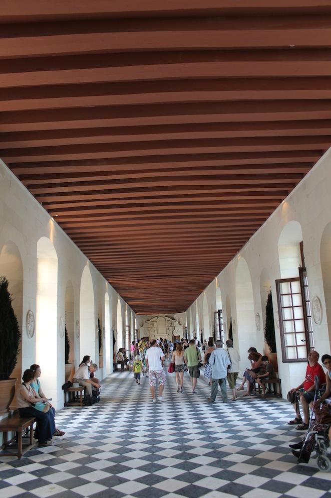 Chateau Chenonceau: Der Korridor