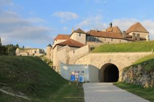 Fort de Joux: Der Eingangsbereich