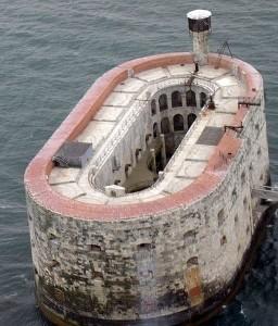 Fort Boyard vor der französischen Atlantikküste / Fort Boyard vor der französischen Atlantikküste / Foto: Bluefish.as href=