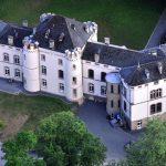 Großbrand auf Schloss Kewenig in der Eifel (2013)