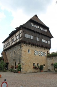 Der Schlossbau, heute Jugendherberge