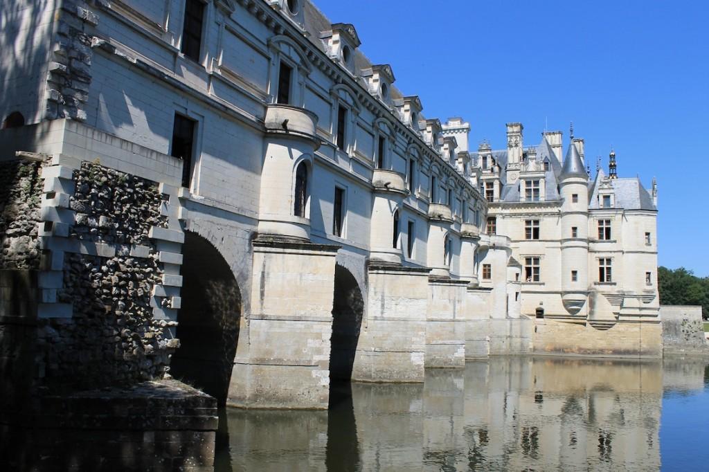 Chenonceau: Die Brücke wurde zur Galerie mit Festaal