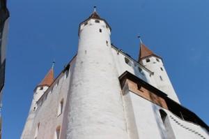 Auf Schloss Thun werden heute wichtige Stücke der Burgunderbeute ausgestellt