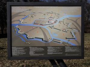 Karte der Festung Brest 1941 / Foto: Wikipedia / yogi555 / Attribution-Share Alike 3.0 Unported