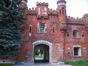 Das Cholmer Tor der Festung Brest / Foto: Wikipedia/Szeder László/CC-BY-SA-3.0-migrated