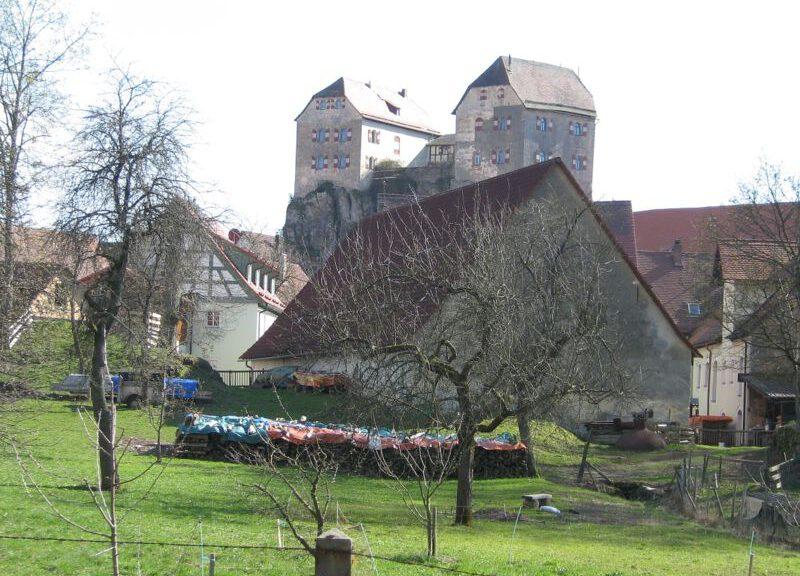 Die markante Burg Hiltpoltstein in Oberfranken / Foto: Wikipedia / Alma / CC-BY-SA-3.0