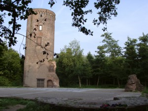 Ruine von Burg Uda / Foto: Wikipedia / Thomas Inderdohnen/Tiger28 / CC-BY-SA-2.0-DE