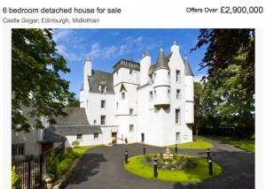 Castle Gogar steht zum Verkauf / Foto: Screenshot: Rightmove.co.uk