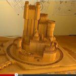 Burg aus Game of Thrones als 3D-Modell nachgebaut