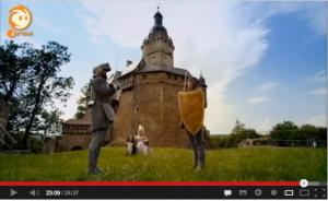 Löwenzahn: Turnier vor Burg Falkenstein, äh, Greifenklau... / Screenshot Youtube