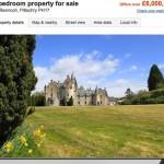 Welche Schlösser in Schottland sind zu verkaufen?