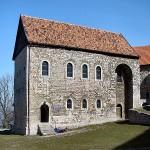 Risse in Doppelkapelle von Burg Großlohra