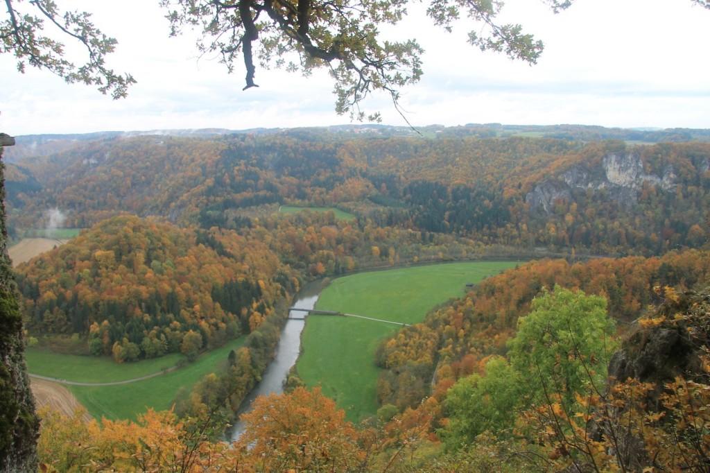 Aussicht von Burg Wildenstein