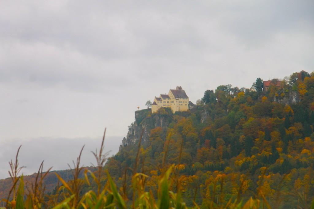 Schloss Werenwag hoch über der Donau