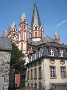 Blick vom Limburger Schloss Richtung Dom / Foto: Burgerbe.de