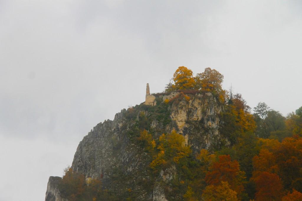 Burgruine nahe Schloss Werenwag