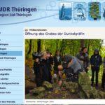 MDR exhumiert Knochen aus Dunkelgräfin-Grab
