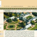 Hochwasserschäden beseitigt: Schlosshotel Dresden Pillnitz öffnet wieder