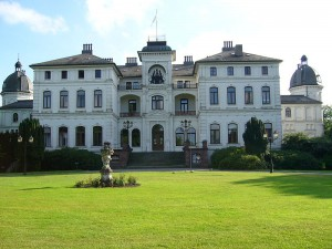 Das Herrenhaus von Gut Salza / Foto: Wikipedia / UphoffHe / Public Domain