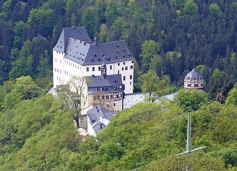 Schloss Burgk an der Saale / Foto: Wikipedia / Geisler Martin / CC-BY-SA-3.0,2.5,2.0,1.0
