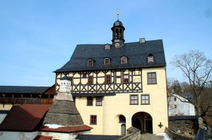 Das Torhaus von Schloss Burgk / Foto: Wikipedia / Thomas Kees (powerbiker1) / CC-BY-SA-3.0-DE