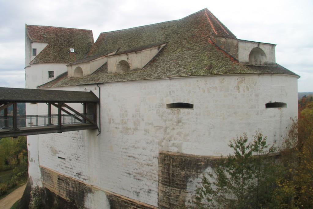 Burg Wildenstein: Nur über eine Holzbrücke zu erreichen