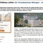 Schlossbau in Fernost: Rothschild kopiert Chateau Lafite in China