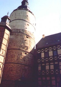 Bergfried von Burg Falkenstein