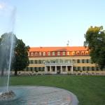 Barocke Zwingermauer von Schloss Sondershausen ist saniert