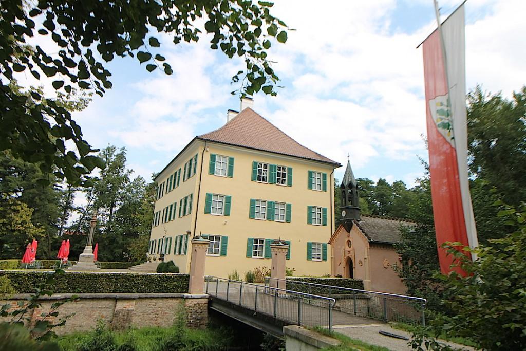 Wo Sisi Ferientage verbrachte: Schloss Unterwittelsbach / Foto: Burgerbe.de