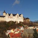 Burg Ranis: Weihnachtsmann bleibt im Kamin stecken