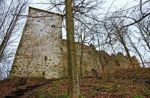 Einer der angeblich verspuktesten Orte der Oberpfalz: Burg Stockenfels / Foto: Wikipedia / msuess / CC-BY-SA-3.0