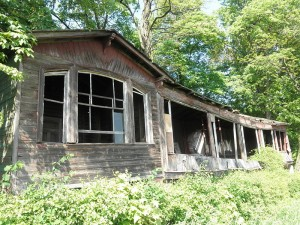 Die einstige Liegehalle ist verfallen / Foto: Wikipedia / Wikswat / CC