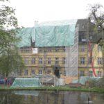 Schloss Gersfeld in Hessen: Dach wird saniert
